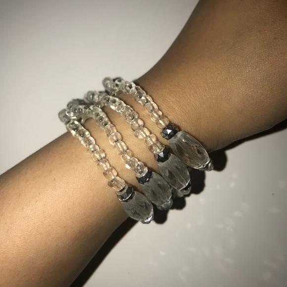 Jewelry - Clear bracelet